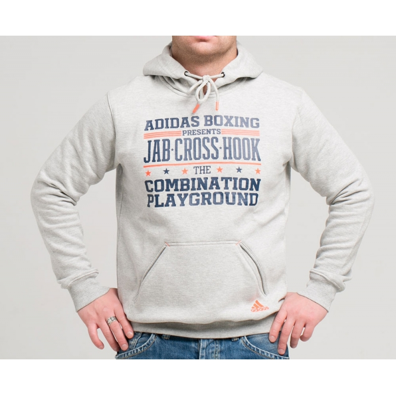 Graphic Hoody Slogan Boxing