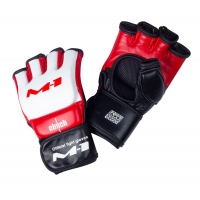 M1 Global Official Fight Gloves бело-