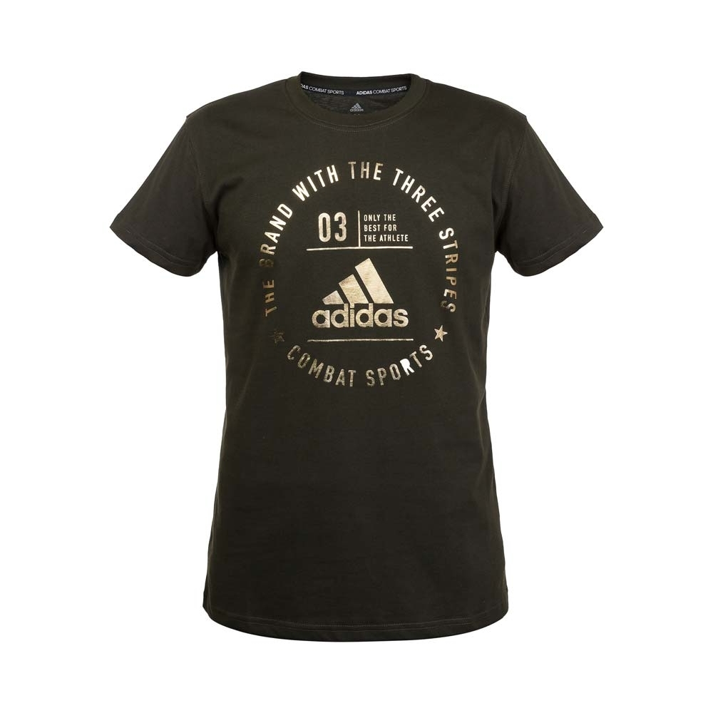 The Brand With The Three Stripes T-Shirt Combat Sports Kids
