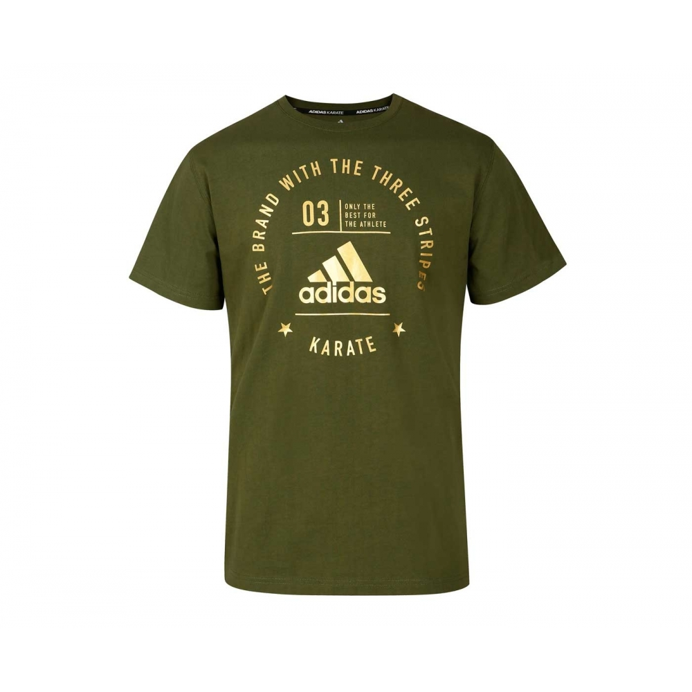 The Brand With The Three Stripes T-Shirt Karate